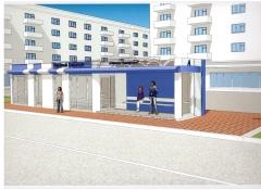 Новые остановочные павильоны в Чебоксарах