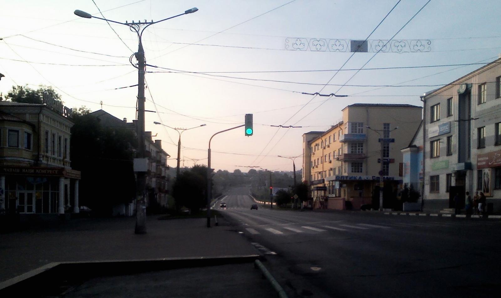 В 5 утра на ул. Композиторов Воробьевых