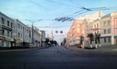 Утро на ул. Карла Маркса