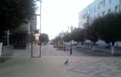 Утро на Чебоксарском Арбате