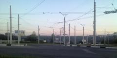 Утро на кольце Гражданская - проспект Никольского