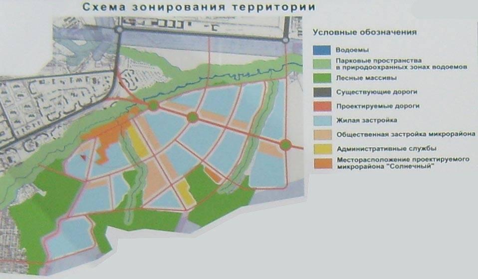 """Микрорайон """"Солнечный"""" в НЮР"""