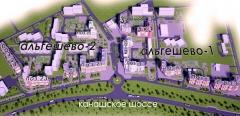 План строительства Альгешево