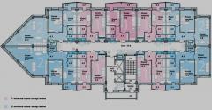 План размещения квартир в доме на Ярославской