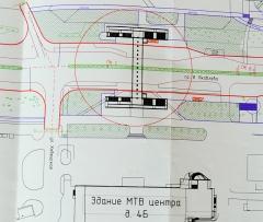 Проект подземного перехода около МТВ-центра