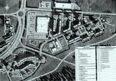 Карта XIY микрорайона Новоюжного района