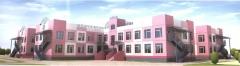 Фасад детского сада в микрорайоне 3А на улице Богдана Хмельницкого