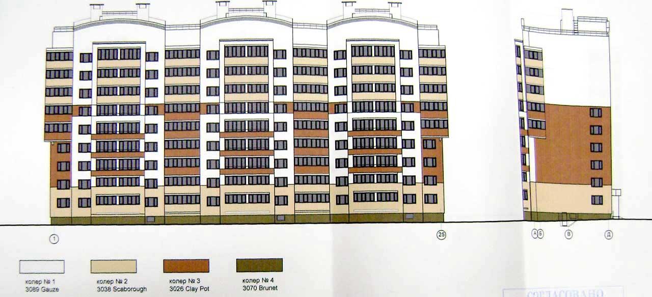 9-этажный дом по ул. Кукшумская 5 корпус 1