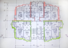 План 9 этажного дома по ул. Социалистическая поз. 2В